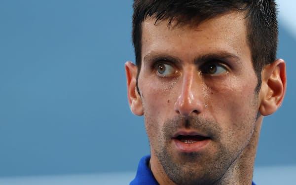 世界ランキング1位のジョコビッチは4度目の五輪も金メダルには手が届かなかった=ロイター