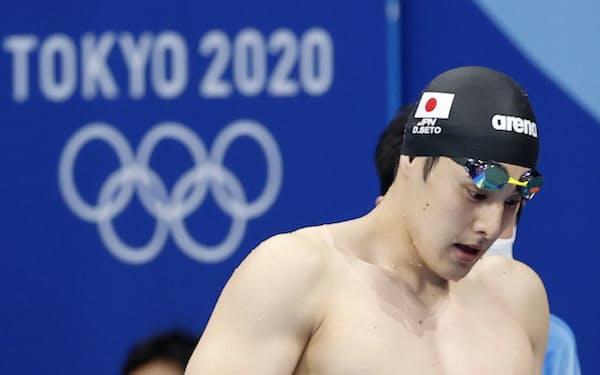 金メダルが期待された瀬戸大也は400㍍個人メドレーで予選落ちするなど振るわなかった