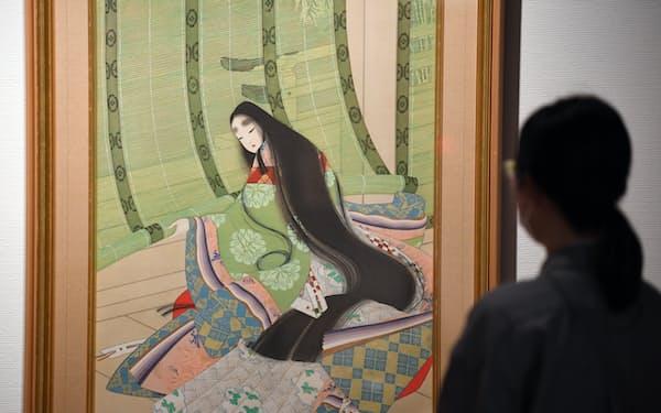 約100年ぶりに発見された「清少納言」(京都市京セラ美術館)