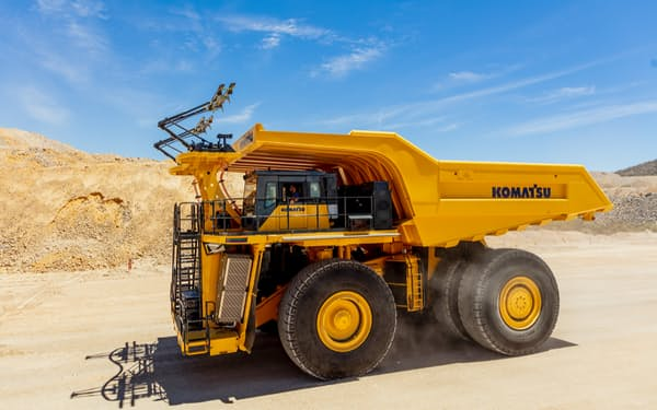 多様な動力源に対応するダンプ車の開発を加速する