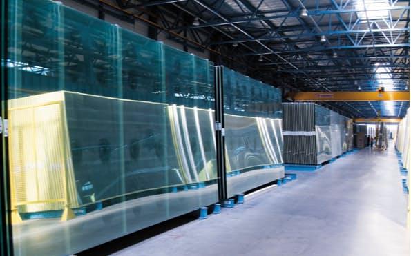 ガラス事業は建築向けの採算が改善する
