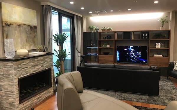 大塚家具はリフォーム事業に参入し新規の顧客獲得を進める(東京都江東区のショールーム)