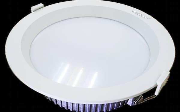 マクニカは人体に無害な白色LEDの除菌照明を発売した