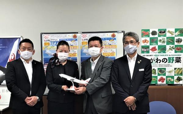 農協観光四国統括支店がJAL機で遊覧飛行ツアーを発売