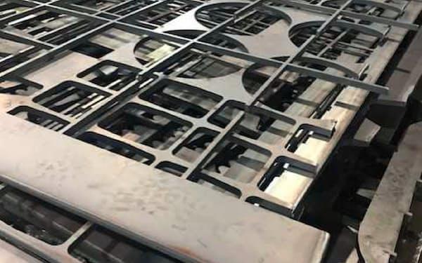 鉄スクラップは特に上級品種の需給が逼迫している(千葉県浦安市の鋼板問屋)