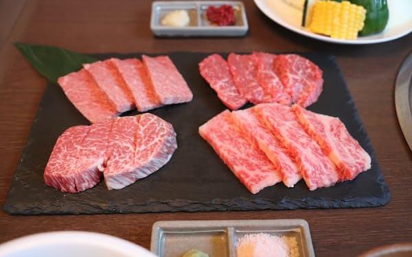 和牛などの品目の輸出が伸びている