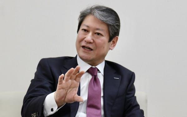 家電や電設資材を担当する品田正弘氏