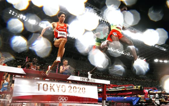 男子3000メートル障害で7位となった三浦