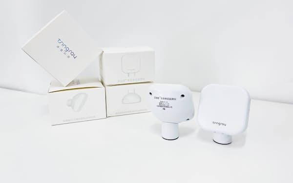 清雷科技はヘルスケア分野向けにミリ波レーダーを活用したスマート端末を開発する=同社提供