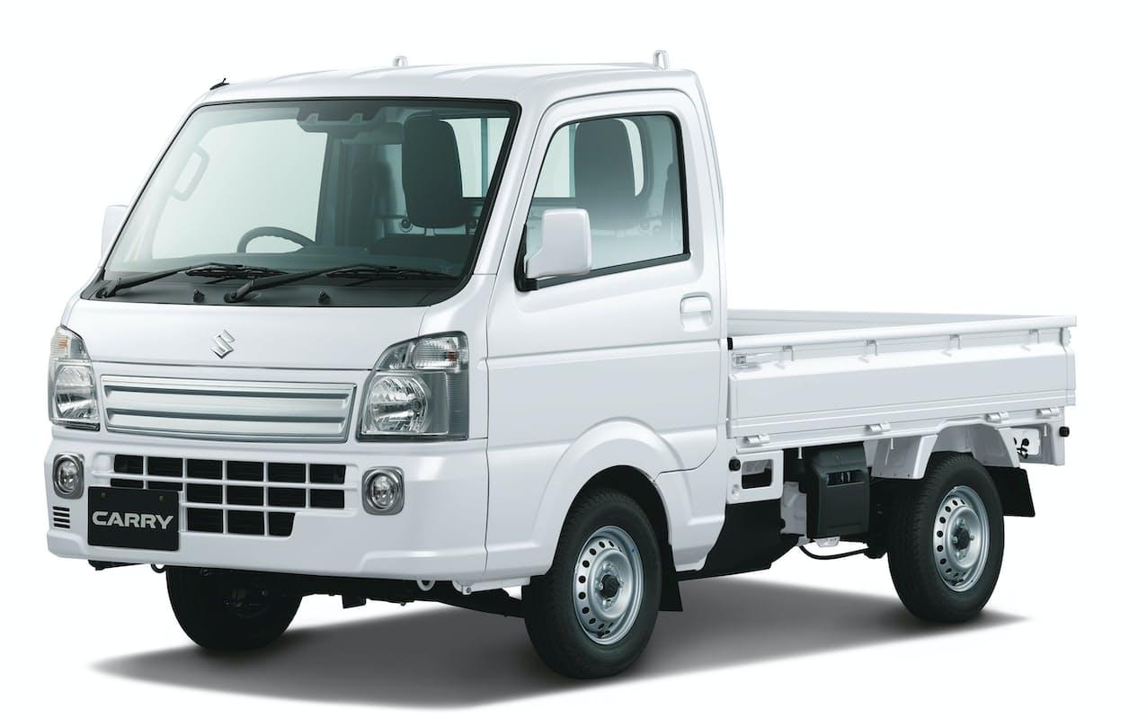 スズキが一部仕様を変更して発売する軽トラック「キャリイ」