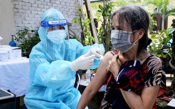 ベトナムはワクチンの調達が大幅に遅れている(ホーチミン市)=国営ベトナム通信