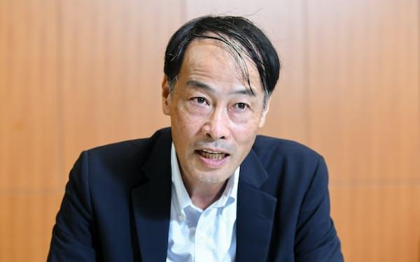 金融庁の中島淳一長官は気候変動対応で金融機関向けの指針を策定する方針を示した