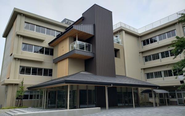 旧小学校の建物を活用した金沢未来のまち創造館