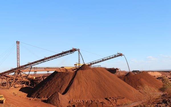 鉄鋼石価格が高止まりしている
