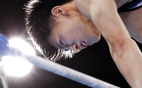 金メダルを獲得した橋本大輝の演技