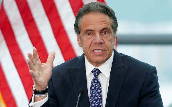 NY州の司法当局は同州のクオモ知事が部下にセクハラをしていたと発表した=ロイター