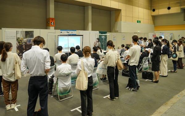 23年卒の就活イベントが始まっている(マイナビが大阪で開いたイベント)