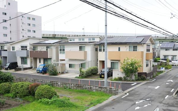 愛知県豊山町の住宅街(2日)