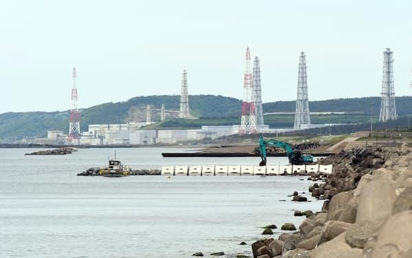 東京電力柏崎刈羽原子力発電所(2016年06月16日、新潟県柏崎市)