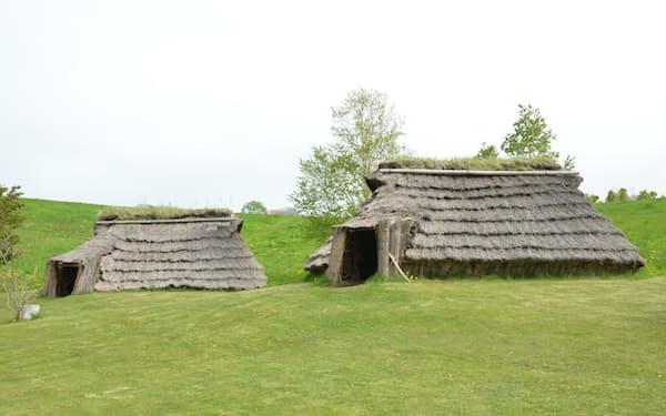 研修参加者を対象に縄文遺跡群をめぐるバスツアーも計画している(北海道伊達市の北黄金貝塚)