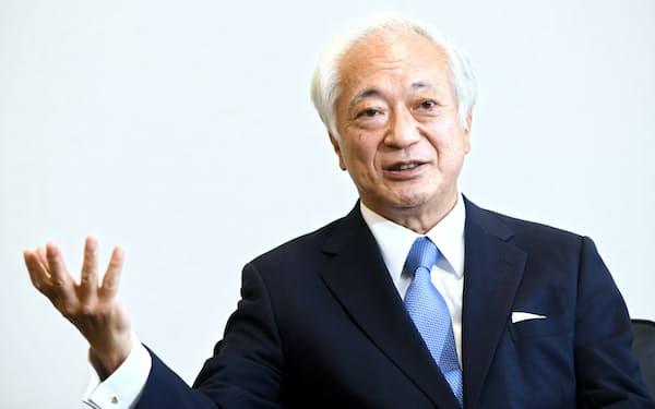 インターネットイニシアティブの勝栄二郎社長