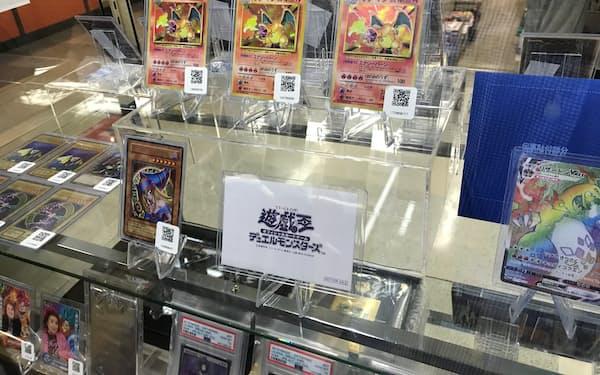 1枚300万円のポケモンカードも(magiの店舗、東京都中野区)