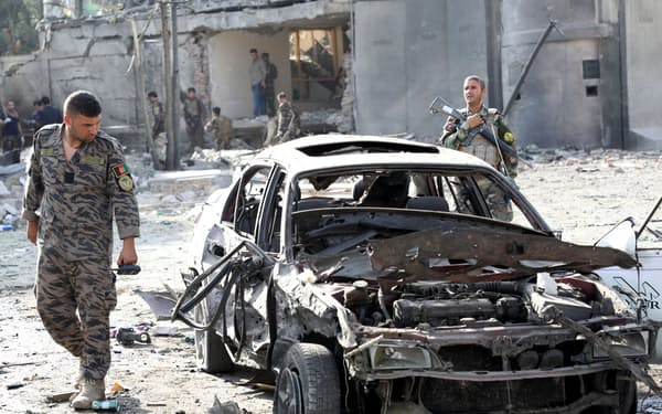 アフガニスタンは治安が悪化している=ロイター