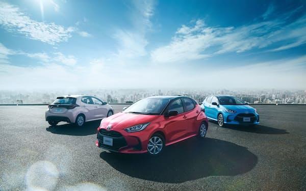 トヨタ自動車のヤリスは、新車販売台数で2カ月ぶりに首位に返り咲いた