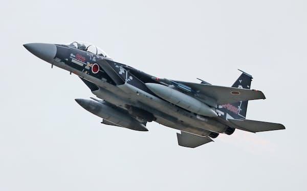 F15戦闘機(航空自衛隊小松基地)