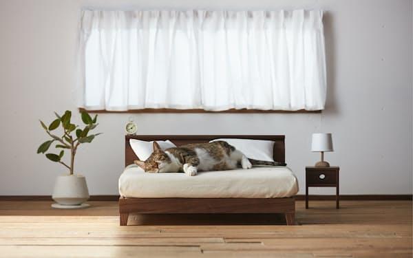 ネコ専用の「ネコ家具」は返礼品としても人気が高い。