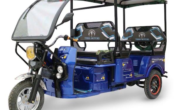 テラモーターズの電動三輪車
