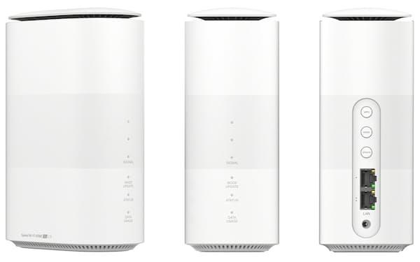 KDDIのSpeed Wi-Fi HOME 5G L11(出所:KDDI)