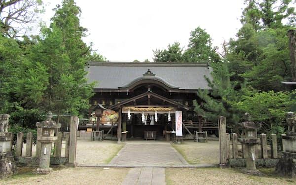 大和神社では毎年8月7日に「戦艦大和みたま祭」が行われる(奈良県天理市)