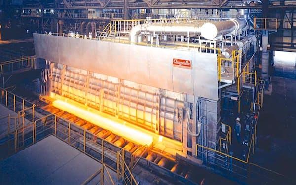 中外炉工業は鉄鋼メーカー用の工業炉などを手がける