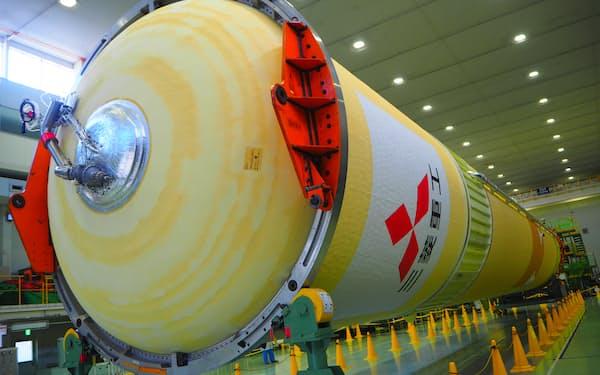 18日に種子島宇宙センターへ出荷する(6日、愛知県飛島村)