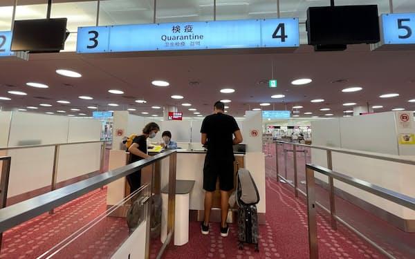 変異ウイルスはペルーに滞在歴があり7月20日に羽田空港に到着した30代女性から見つかった=ロイター