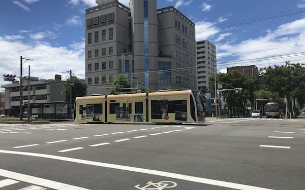 堺市が発表した次世代交通システムの構想では、阪堺線大小路駅の交差点をシームレスな乗り継ぎ施設に整備する