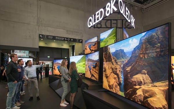 サムスンは65型以上の大型テレビに注力する