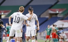 疲弊の日本、動けず 完敗で「銅」逃す サッカー男子