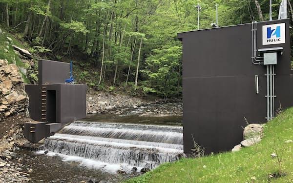 小水力発電所なども建設する