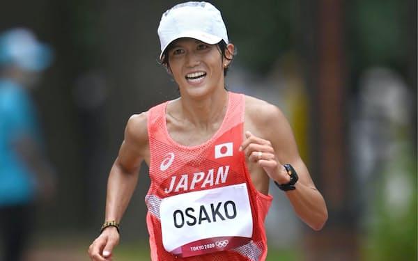 大迫は6位に入り、日本勢では2012年ロンドンの中本健太郎以来の入賞を果たした
