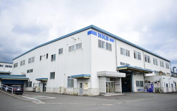 HKSの本社工場(静岡県富士宮市)