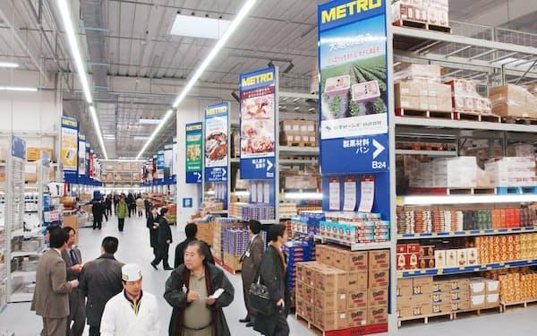 新型コロナウイルスの影響で事業継続が困難と判断した(写真は2002年に日本進出1号店として開業したメトロ千葉店)