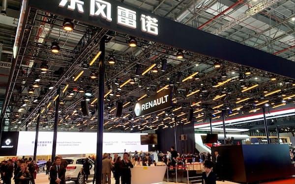 ルノーは中国市場に再び力を入れる(2019年、上海)