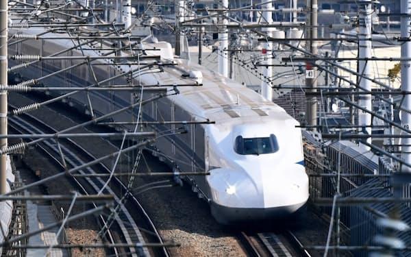 山陽新幹線など長距離路線の利用回復が遅れている