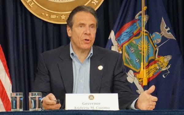 ニューヨーク州のアンドリュー・クオモ知事
