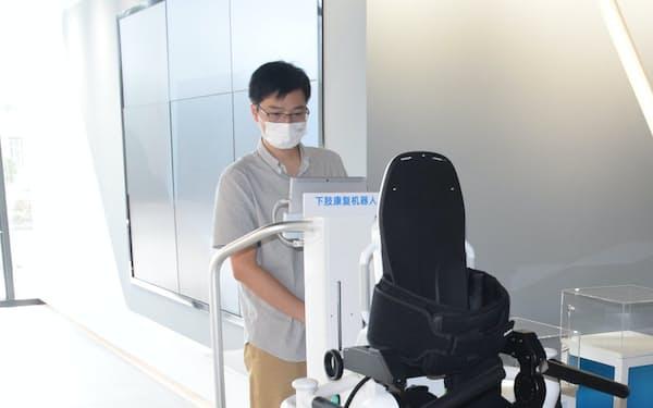 傅利葉智能集団が開発したリハビリ支援ロボット