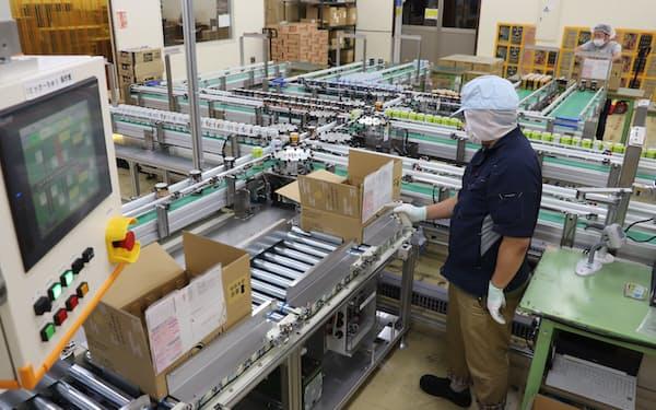 ビールの箱詰めを自動化し、今後の需要増に向け作業効率を高める