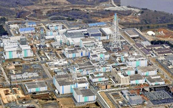 日本原燃の使用済み核燃料の再処理工場