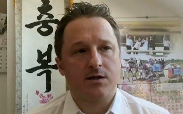 中国地裁から懲役11年の判決を言い渡されたカナダ人実業家、マイケル・スパバ氏=AP